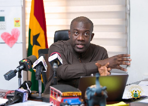 Kojo Oppong Nkrumah is NPP MP for Ofoase Ayirebi