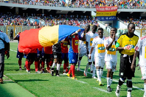File photo: Football activity in Ghana was halted in mid-March due to the coronavirus crisis