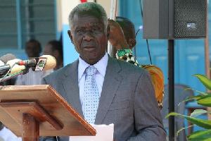 Brigadier General Nunoo Mensah