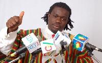 MUSIGA president, Bice Osei Kuffuor aka Obuor