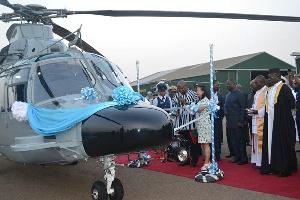 Mahama Helicopter