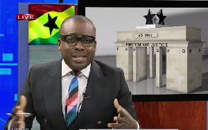 Paul Adom Otchere speaking on Good Evening Ghana