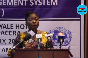 Florence Ayisi Quartey, National Director of the Department of Children