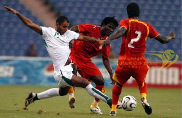 The Black Stars lost 5-0 in the friendly match