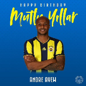 Dede Ayew Birthday
