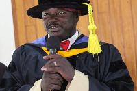 Dr Gabriel Gbiel Benarkuu,  President of the College of Community and Organization Development