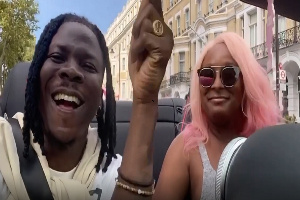 Ghanaian musician,  Stonebwoy and Nigerian singer, DJ Cuppy