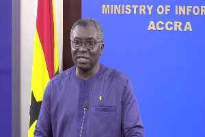 Former Minister of Environment, Prof Frimpong Boateng