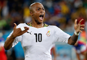 Andre Dede Ayew.