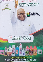 1D1F: Akufo-Addo commissions New Okaff Industries