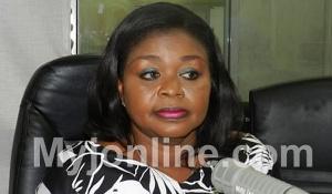 Sylvia Annor, spokesperson of the Electoral Commission