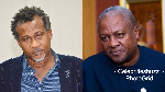 Vote for Mahama if you want dumsor back - Highlife veteran Lucky Mensah