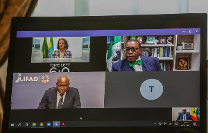 African leaders met virtually for a High-Level Dialogue on Feeding Africa