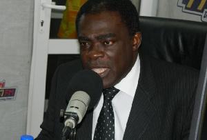 General Secretary of CCG, Rev. Dr. Kwabena Opuni-Frimpong