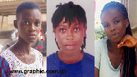 The 3 young teenage girls who have been kidnapped