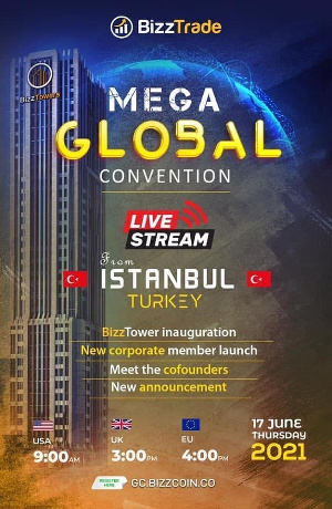 The convention will be live from Istanbul