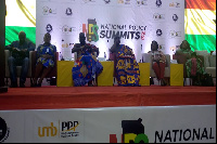 Stakeholders at the Policy Summit