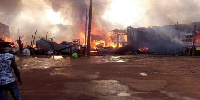 Properties amounting to several hundreds of cedis were lost in the fire