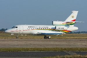 Ghana's presidential jet