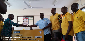 The team from MTN making the presentation to the planning committee