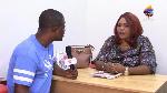 Naana Kwakye narrating her ordeal to SVTV Africa