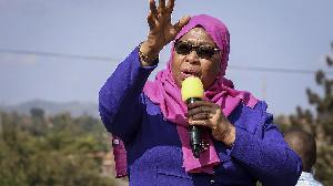 Tanzania's  president,  Samia Suluhu Hassan