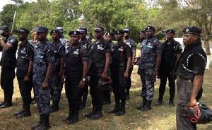 Police Reinforcement Ajumako Besease