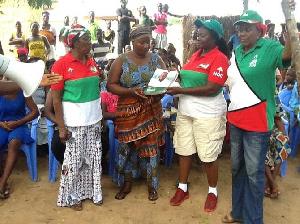 A group of NDC women in the Ashanti Region