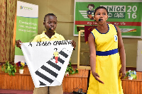 Education on the use of Zebra crossing by pupils of Korle Gonno Methodist School