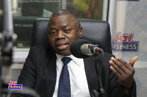 Alhassan Andani, Managing Director of Stanbic Bank Ghana Limited