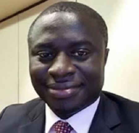 District Chief Executive (DCE) for Asante-Akim South, Mr. Alexander Frimpong