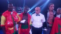 Sherrif Quaye could not win the vacant ABU super lightweight belt