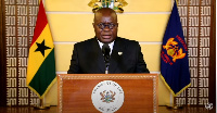 President  Akufo-Addo made his address through a virtual presentation