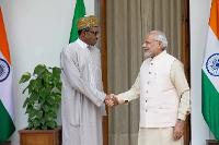 President Muhammadu Buhari and Prime minister of India, Narendra Modi