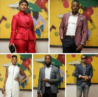 Nana Ama McBrown, Victoria Michaels, Toosweet Annan, Van Vicker and Henry Adofo for Cannes Film