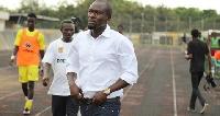 CK Akunnor, former AshGold coach