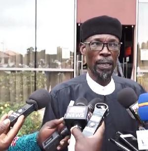 Spokesperson of the National Chief Imam, Sheik Aremeyaw Shaibu