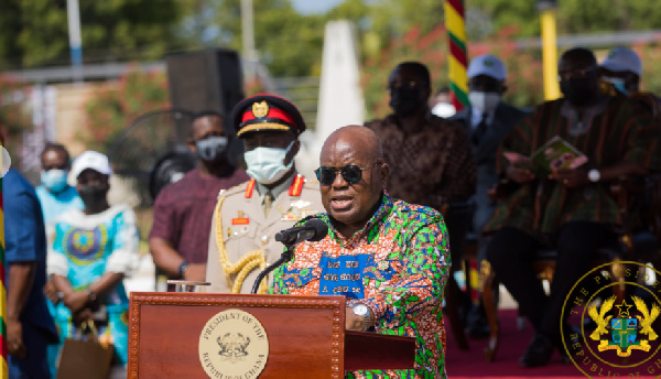 Meaning of fabric Akufo-Addo wore for 'Green Ghana' tree planting event. 52