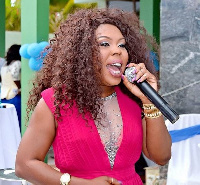 Radio and TV personality, Afia Schwarzenegger