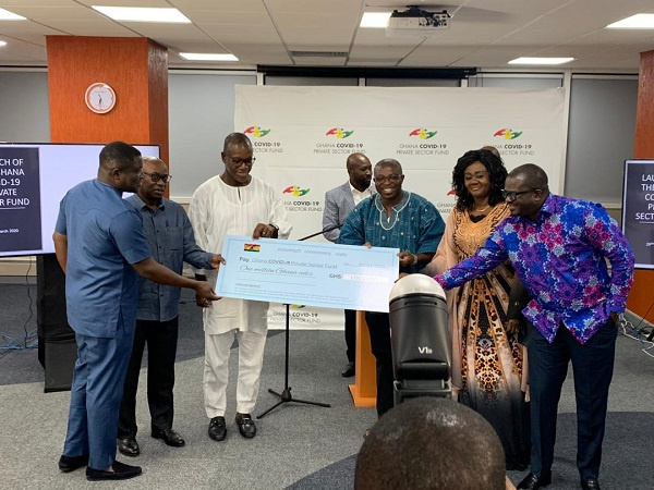 Deputy Finance minister launches Ghana Covid-19 fund
