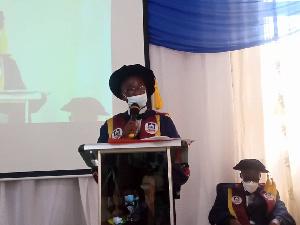 Professor Clement Somuah Is The President Of The Christ Apostolic University College