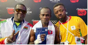 Suleman Tetteh has booked a ticket to the Tokyo Olympic Games with the Black Bombers team