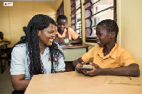 Vodafone's digital education platform is currently creating a revolution across the country