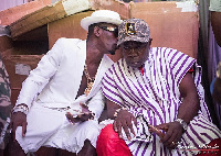 Shatta Wale and his father