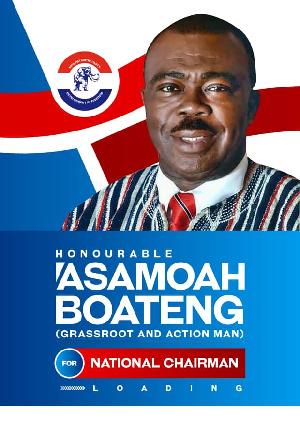 Asamoah Boateng's Chairmanship posters