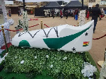 Kwasi Owusu was buried in this stylish casket
