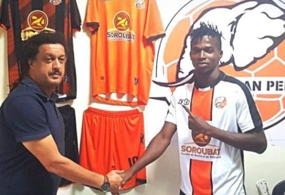 Former Hearts striker Richard Zumah joins San Pedro