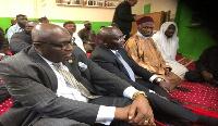 Dr. Mahamudu Bawumia (right) with Ghana's High Commissioner to UK/Ireland, Papa Owusu Ankomah