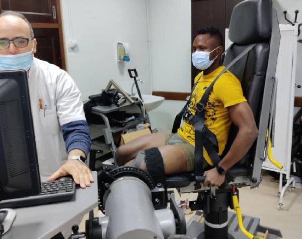 Joseph Esso undergoes successful medical ahead of MC Algiers move