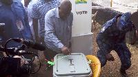 Nana Addo Dankwa Akufo-Addo will become the president of Ghana if he wins the elections.